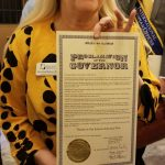 Proclamation from the Governor of KS for Theatre in our schools 2020.
